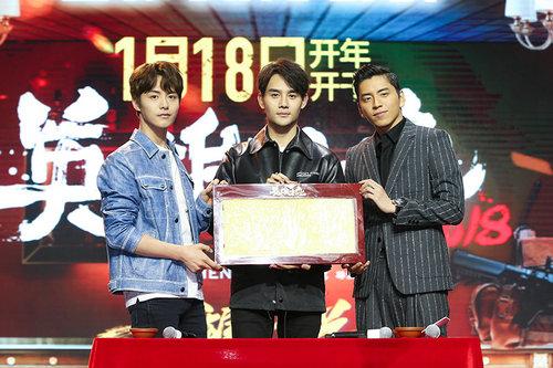 王凯成电影《英雄本色2018》定角第一人