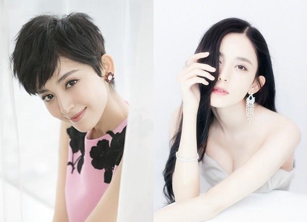 吴昕的短发其实挺适合她的,但关键在于这个二次元的刘海.图片