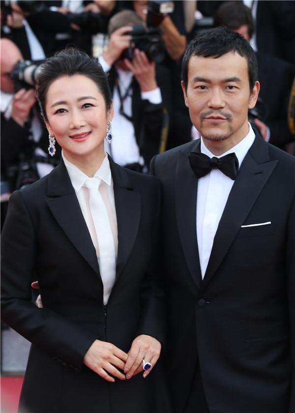《江湖儿女》代表角逐戛纳红毯剧组华语片亮相金棕榈电影动画片的汽车图片